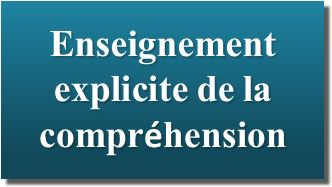 enseignement explicite de la comprehension